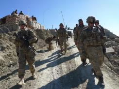 Although the poll found an upswing in personal morale among U.S. troops, optimism about Afghanistan dropped further this year.