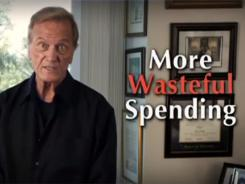 Pat Boone, a spokesman for the conservative 60 Plus Association, appears in an ad that targets Sen. Bill Nelson, D-Fla.