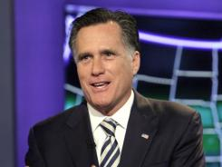 An Illinois poll finds Mitt Romney, pictured, neck and neck with Rick Santorum.