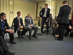 Mormon missionaries meet in February at the Church of Jesus Christ of Latter-day Saints in Nashville.