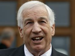 Former Penn State University assistant football coach Jerry Sandusky is accused of abusing 10 young victims during a course of 15 years.