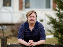 Philip Katon of Milton, Vt., was certified as sexually dangerous in July 2008; the government dropped the case against him in August of 2011. Katon lives with his mom and is pictured outside of their home in Milton in February.