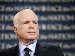 Sen. John McCain, R-Ariz.