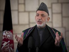 Afghan President Hamid Karzai told U.S. Defense Secretary Leon Panetta that the shootings in Afghanistan were cruel and that everything must be done to prevent any such incidents in the future.