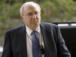 Bill Allen, one of the key government witnesss against Ted Stevens, arrives at federal court in Washington in 2008.