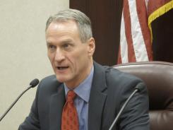 South Dakota Gov. Dennis Daugaard vetoed a law would have allowed anybody eligible to qualify for a gun permit to bypass that process and simply carry a weapon.