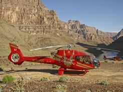 Papillon Grand Canyon Helicopters, the largest air-tour operator around the Grand Canyon, spent $185 million on a fleet of quieter aircraft, including the EcoStar Helicopter (EC130).