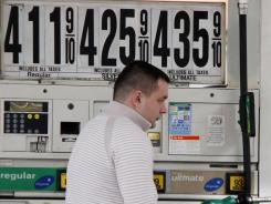 Pain at the pump: Average gas prices have risen 30 cents in the past month. Some analysts predict $5 a gallon by this summer.
