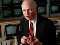 C-SPAN founder Brian Lamb is stepping down as CEO.