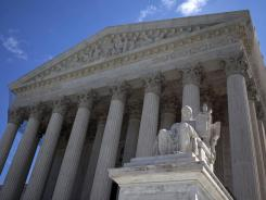 The Supreme Court, pictured here, may consider legal precedents that date back to 1942 in the health care case.