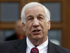 Jerry Sandusky, a former Penn State assistant football coach, is accused of sexually abusing boys.