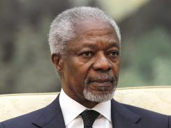 U.N. envoy Kofi Annan has developed a six-point plan to end Syria's bloodshed.