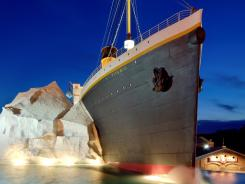 The Titanic Museum Attraction in Pigeon Forge, Tenn., features a half-scale replica of the liner's bow section and hundreds of artifacts.