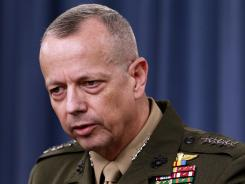Marine Gen. John Allen said earlier this week that changes have been made to better guard U.S. troops in Afghanistan.