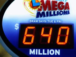 Winning Mega Millions Lottery Ticket Sold in Maryland