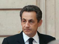 """It's our duty to guarantee the security of the French people. We have no choice. It's absolutely indispensable,"" President Sarkozy said."