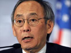 Energy Secretary Steven Chu has said he wants a signal that he has the authority to decide on a grant for the American Centrifuge Project.