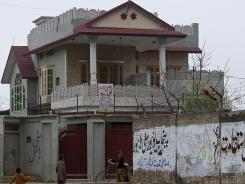 A view of the house in Haripur, Pakistan, that Pakistan's intelligence agency believes Osama bin Laden lived in for nearly a year until he moved into the villa where he was eventually killed.