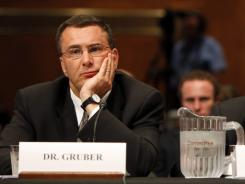 In this May 12, 2009, file photo Jonathan Gruber, professor of Economics at the Massachusetts Institute of Technology, participates in a hearing on the overhaul of the heath care system in Washington.