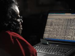 Angela Walton-Raji was one of several million people who attempted to log in to the National Archives website Monday morning. An overloaded system never got off the ground for Walton-Raji and many others.
