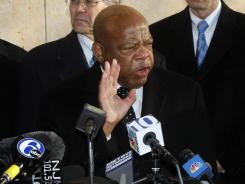 Rep. John Lewis, D-Ga., was the only House member who went over his budget last year.