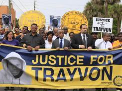 Protest: Saturday in Sanford, Fla.