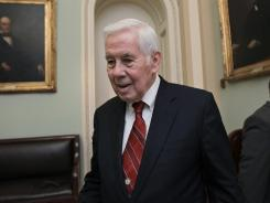 Sen. Richard Lugar, R-Ind., faces a primary challenge.