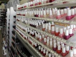 "California's chemical regulators randomly sampled dozens of professional-grade nail polishes that claimed to be free of a ""toxic trio"" of dangerous substances."