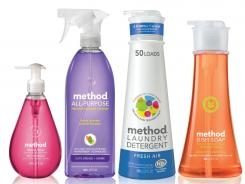These green cleaning products by Method meet the criteria of Whole Foods new Eco-Scale rating system, which requires the disclosure of all ingredients on product labels, as well as the broader Cradle-to-Cradle program, which looks at the eco-friendliness of both the item and its manufacturer.