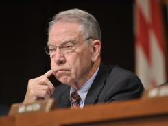 Iowa Sen. Charles Grassley expressed confidence the Senate Agriculture Committee will move forward on its own farm bill this year.