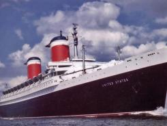 The size of the Chrysler Building, the SS United States served as both a luxury liner and Cold War weapon.