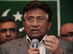 Adnan Rashid was one of the prisoners allegedly freed when Taliban fighters attacked a Pakistani prison. Rashid was allegedly involved in an assassination attempt against former president Pervez Musharraf, shown here.