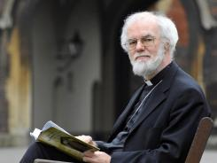 Returning to teaching: Archbishop of Canterbury Rowan Williams is stepping down.