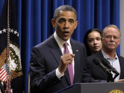 President Obama discusses the Buffett rule during a meeting Wednesday at the White House.