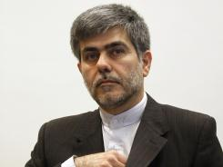 Fereidoun Abbasi, Iran's nuclear chief, is shown in this June 21, 2011, file photo.
