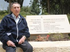 Holocaust survivor Zvi Shefel, 86, attended a ceremony Thursday at Israel's Yad Vashem memorial to read the names of family members who were killed by the Nazis, including his parents and 18-year-old sister.