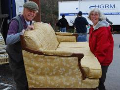 Ira and Barbara Smith of Acton, Mass., have been gathering household goods since 1990 for people in need.