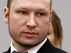 Anders Behring Breivik compared the pain he caused the families of his victims to his own situation.