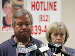 Robert and Charlene Spierer talk about their missing daughter, Lauren Spierer, during a news conference July 1 in Bloomington, Ind.