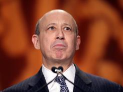 Lloyd Blankfein: chairman and CEO of Goldman Sachs.