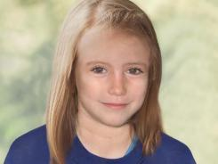 London Metropolitan Police have released an age progression computer-generated image of Madeleine McCann at age 9. She went missing in May 2007.
