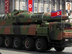 Adding more doubt to North Korea's claims of military prowess after its flamboyant rocket launch failure, analysts say the half dozen missiles showcased at an Apr. 15 military parade were low-quality fakes.
