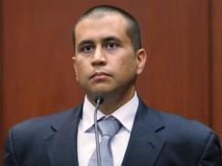 George Zimmerman during his bond hearing in a Seminole County courtroom last week in Sanford, Florida.