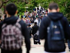 Some colleges are assigning more coursework to deter fraud rings seeking federal financial aid.