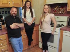 Frank Porter lets his daughters Megan and Courtney live rent-free in a house he owns and also pays for their car repairs and insurance. About 42% of parents help their young adult children pay their bills.