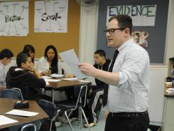 Teacher David Riesenfeld has been piloting Common Core standards in his 10th-grade world history class in New York City.
