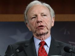 Sen. Joseph Lieberman is one of the co-sponsors of the Postal Service bill.