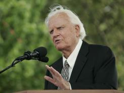 The Rev. Billy Graham, who has rarely taken political stands since his retirement, is speaking out in an ad campaign in N.C. supporting an amendment banning gay marriage in the state.
