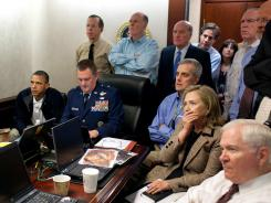 May 1, 2011: President Obama and administration officials watch the bin Laden mission.