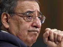 Defense Secretary Leon Panetta testifies on Capitol Hill in March. On Friday, he is expected to address the issue of troops refraining from misconduct.